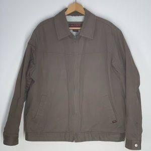 Tony Hawk Brown Work Jacket With Front Pockets